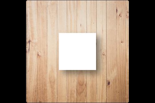 Blanco babyborrelkaartje - diverse formaten
