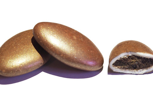 suikerbonen papa chocolat - parelmoer koper
