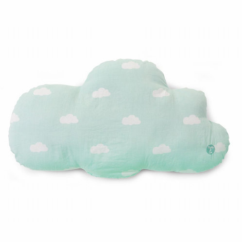 Kussen Snoozy Clouds | Mint Blue