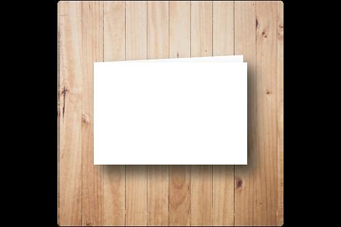 Blanco dubbel postformaat (10x15cm)