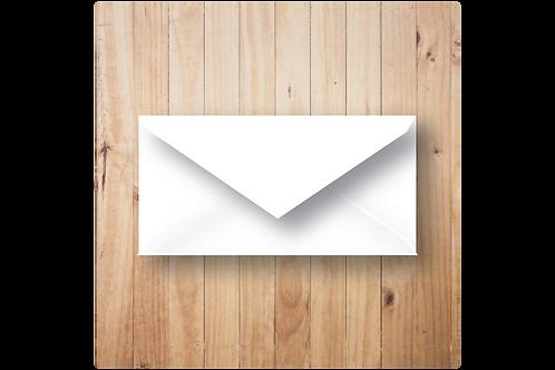 envelop formaat DL wit
