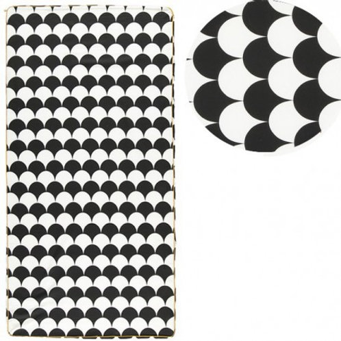 Saint Tropez Speelmatras - Black Scales | Nobodinoz