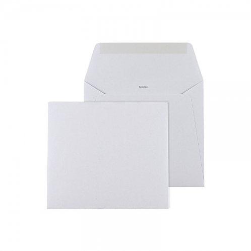 envelop vierkant wit