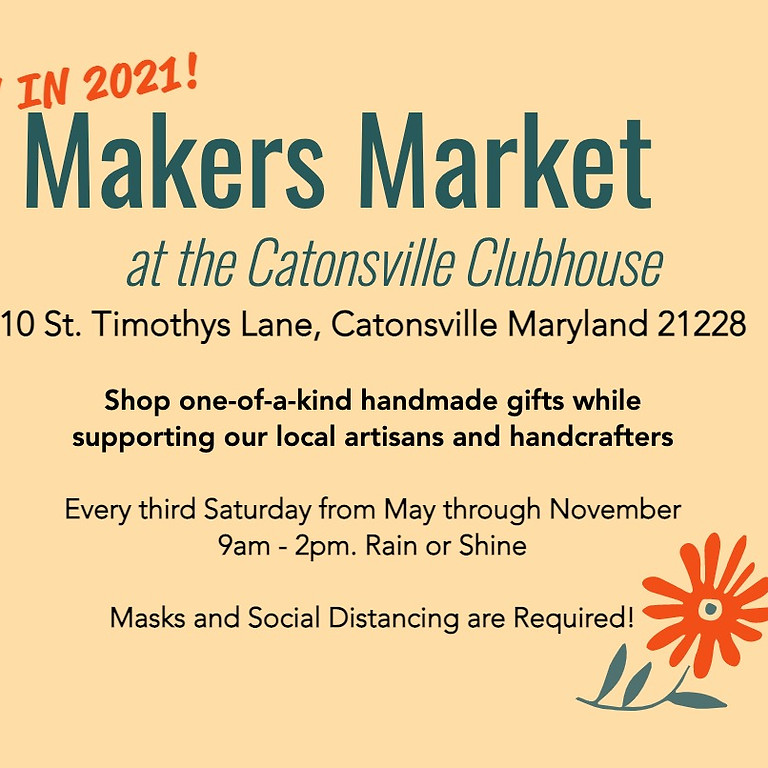 Makers Market - Vendor Registration Aug 28