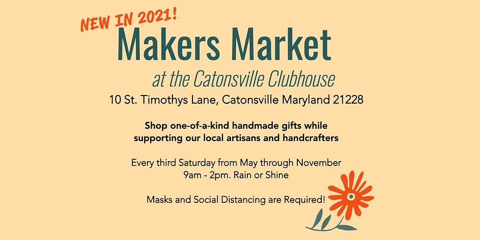 Makers Market - Vendor Registration Aug 28
