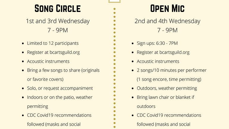Open Mic at The Clubhouse -  June 23