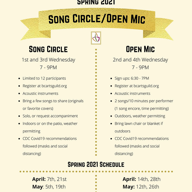 Song Circle at the Clubhouse -  June 2nd