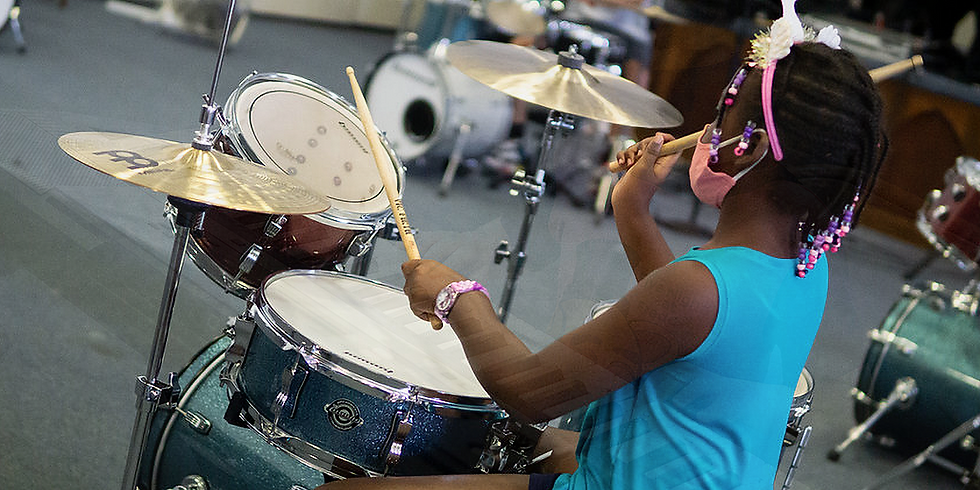 The Drum Experience-  For Children Ages 10 and up!