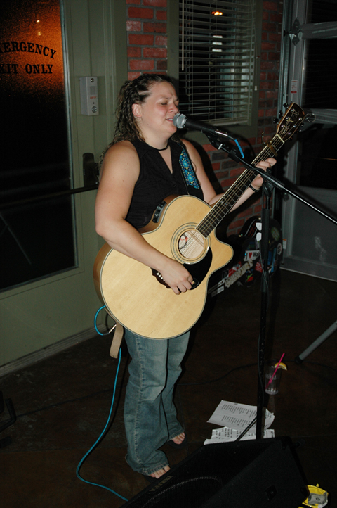 Stacy Koviak at Uno's - Richmond, VA