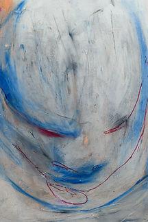"""""""Deine"""" 9x12in Oil Pastel On Paper"""
