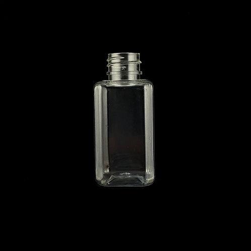 50ml Square PET Bottle 20/410
