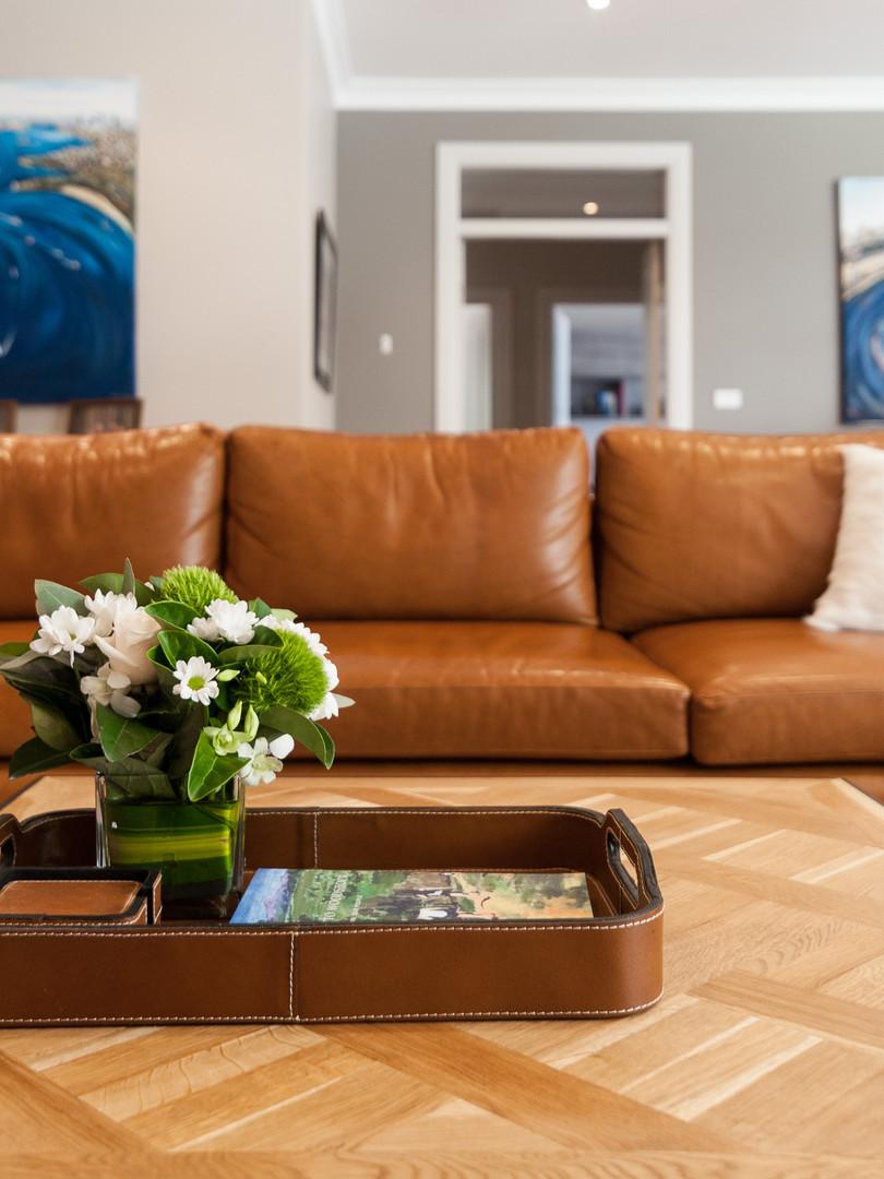 Custom Made Premium Leather Sofa