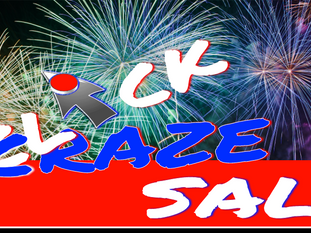 """MAY """"CLICK CRAZE"""" CLEARANCE SALE"""