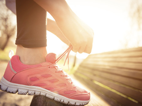 Lace Up Your Shoes!