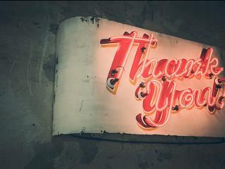 16 de Novembro - Muito obrigado!