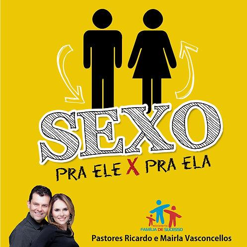 DVD - Sexo pra ele X sexo pra ela