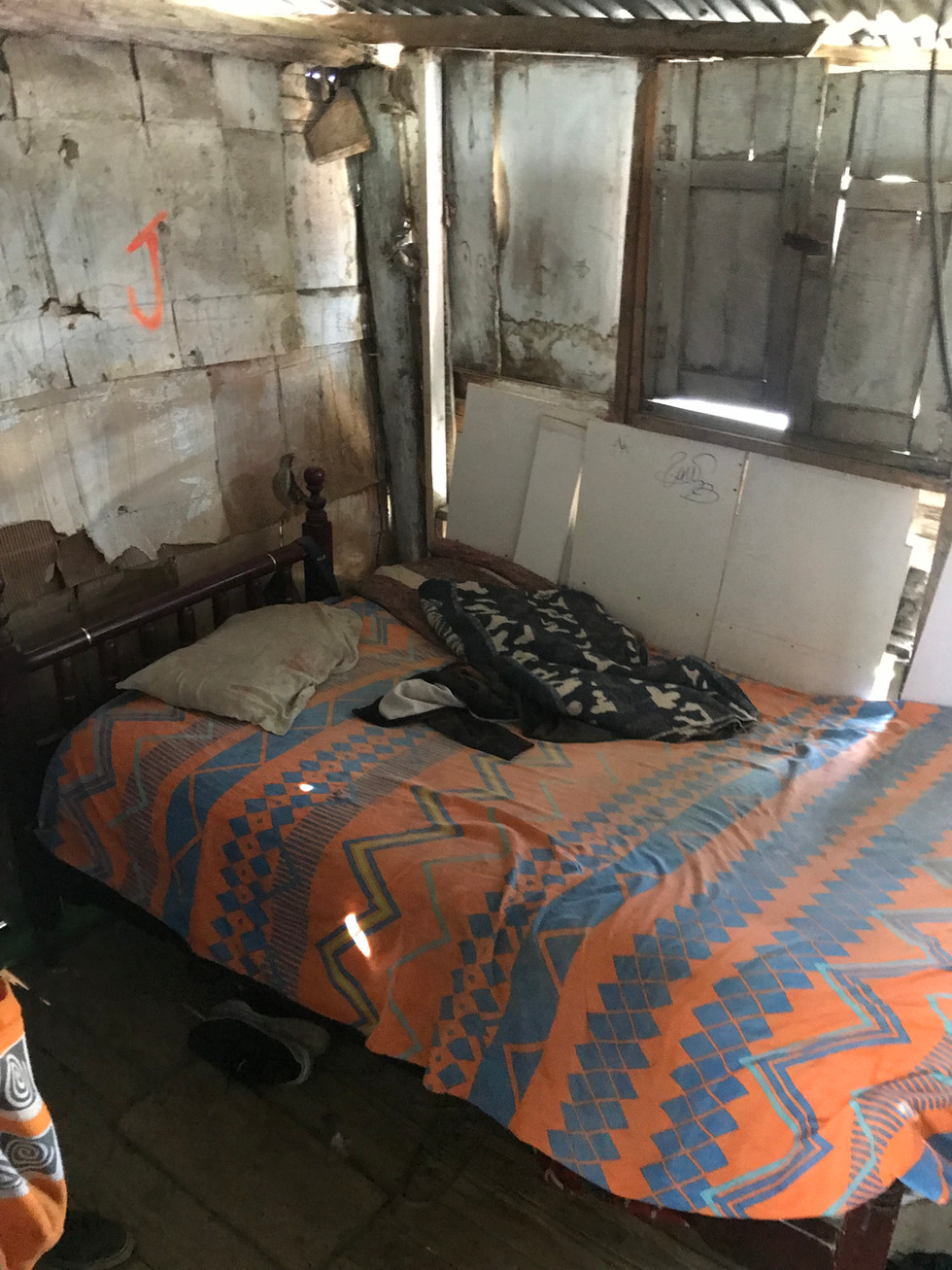 Bedroom living in the Barrio