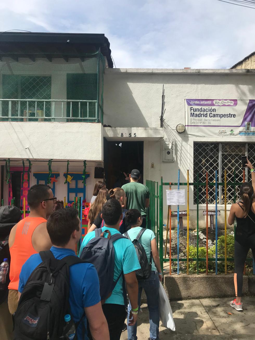 School in San Javier