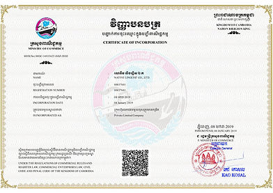 CertificateOfIncorporation-NATIVE LINGUI