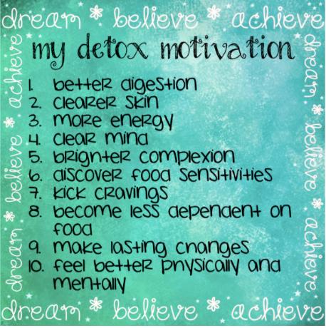 Detox Time!