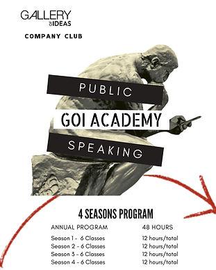 Your Company Public Speaking Club - GOI