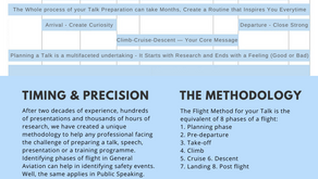 How to prepare and give a presentation using The Flight Method?