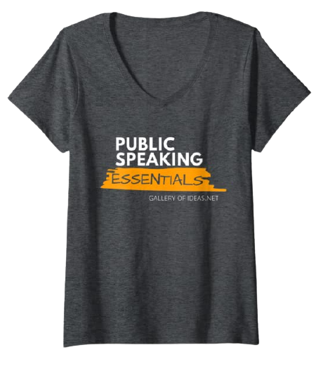 Public Speaking Essentials T-shirt