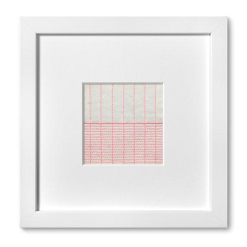 """Color Studies - Grid no. 11, 8""""x 8"""" (mat size)"""