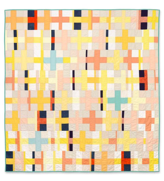 Orphan Cross Block Quilt