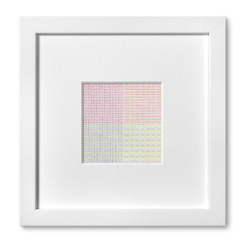 """Color Studies - Grid no. 15, 8""""x 8"""" (mat size)"""