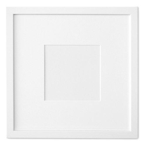 """White Frame (12"""" x 12"""")"""