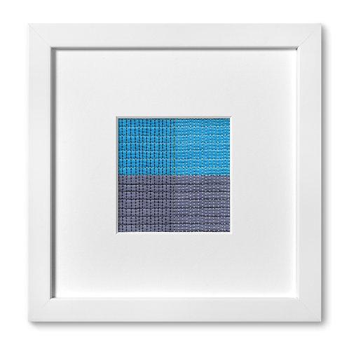 Color Study - Grid no. 6 (Framed)