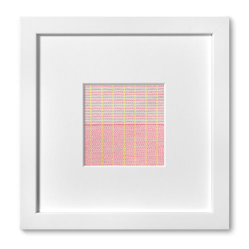 "Color Studies - Grid no. 10, 8""x 8"" (mat size)"