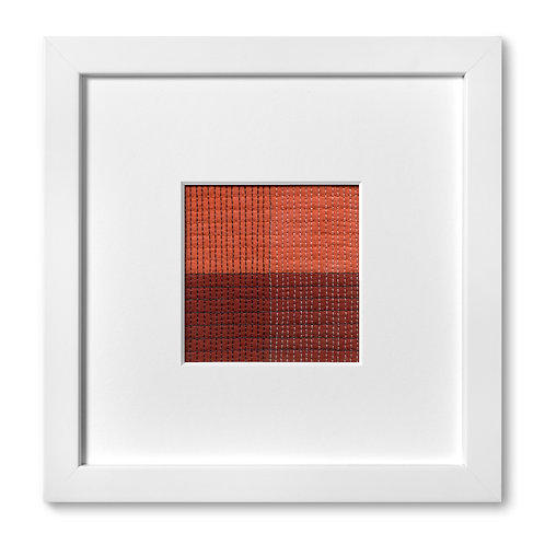 "Color Study Series - Grid no. 1, 8""x 8"" (mat size)"