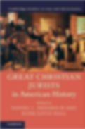 Cover for Great Christian Jurists in American History