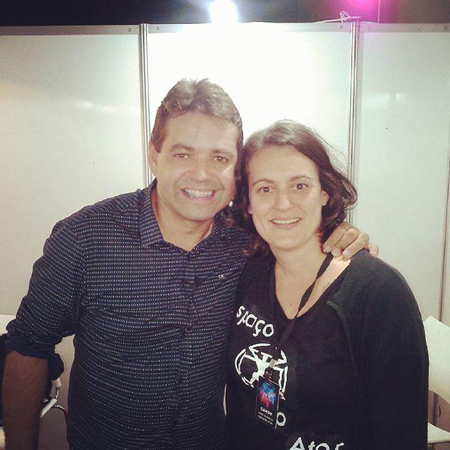 Com Marcelo Germano nosso parceiro na empreitada de formar novos talentos..