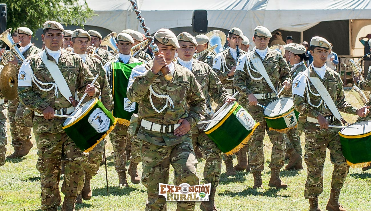 Banda Militar en el Desfile