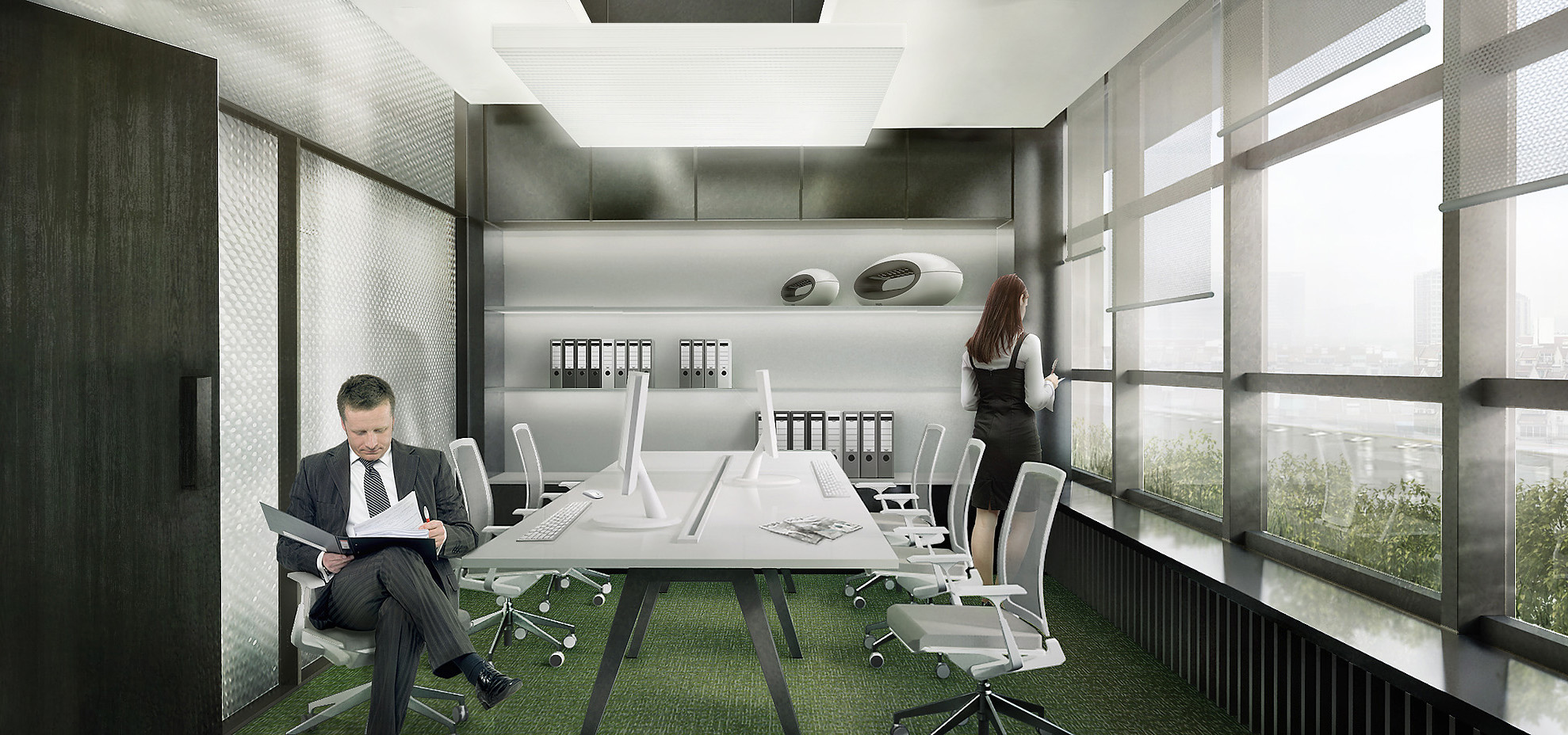 6-Person Private Office