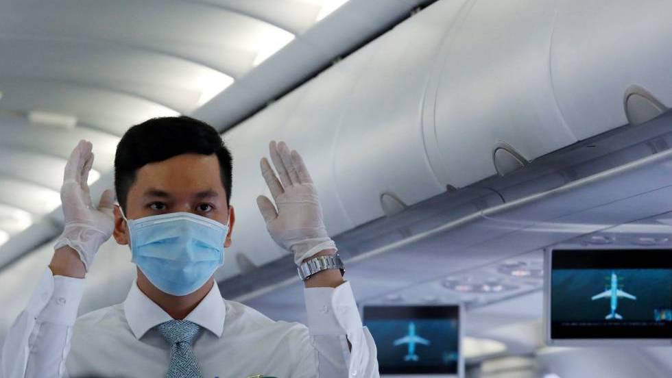 Seguridad COVID en aviones