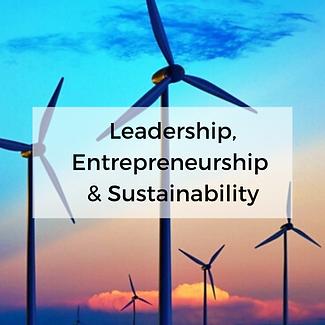 Leadership, Entrepreneurship and Sustain