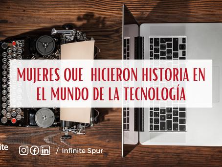 Mujeres que hicieron historia en el mundo de la tecnología
