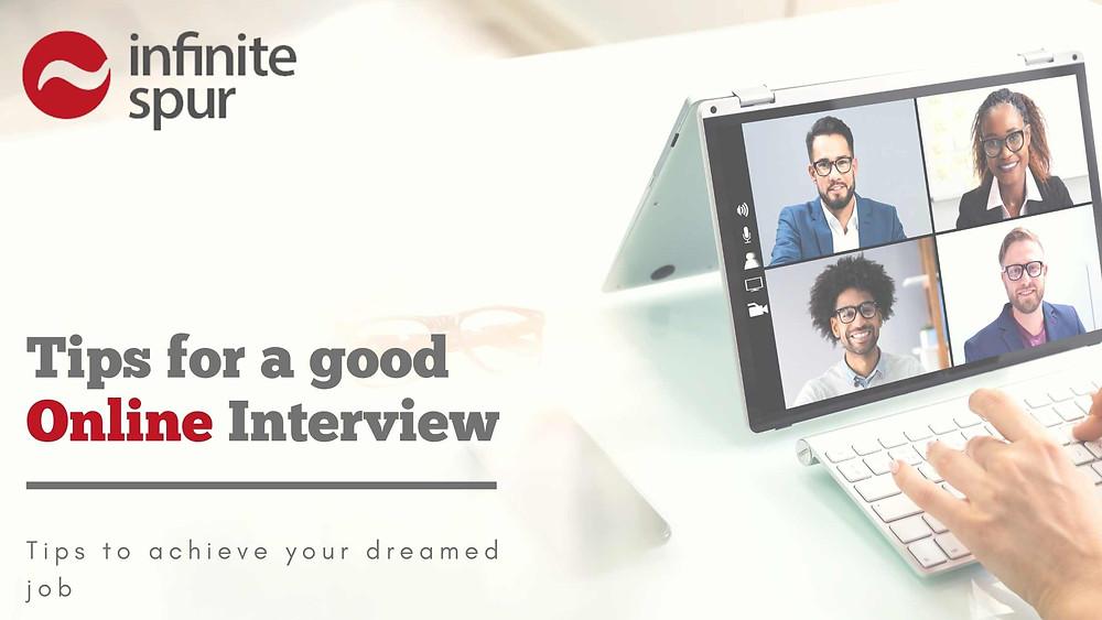 job interviews online tips