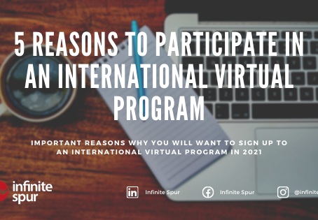 5 IMPORTANT reasons to participate in an international virtual program