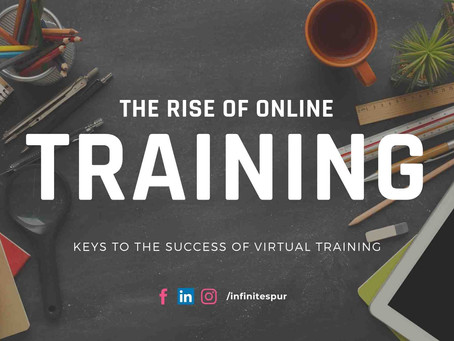 The rise of online training. Advantages of distance education
