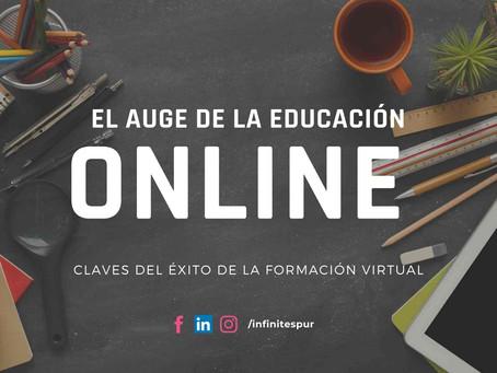 El auge de la formación online. VENTAJAS de la educación a distancia.