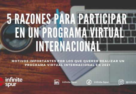 5 Razones IMPORTANTES para querer realizar un programa virtual internacional