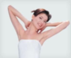 armpit waxing