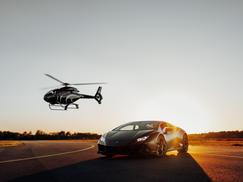 Lamborghini Helikoptershooting