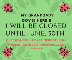Closed until June 30th