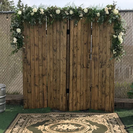 2019 Santa Clarita Florist wedding photo shoot. Los Angeles florist. Wolf Creek Brewery wedding in Valencia, CA.